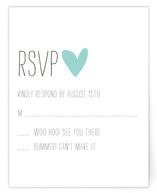 Passing Notes RSVP Cards