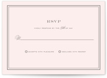Country Club RSVP Cards