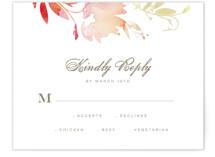 Stately Florals RSVP Cards