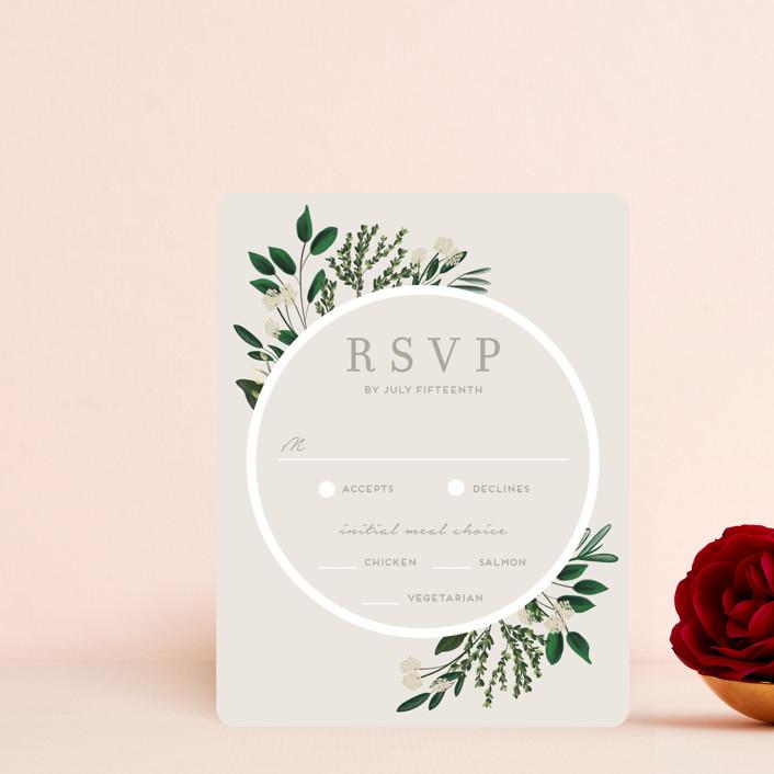 """""""Watermark"""" - Rsvp Cards in Cypress by Kaydi Bishop."""