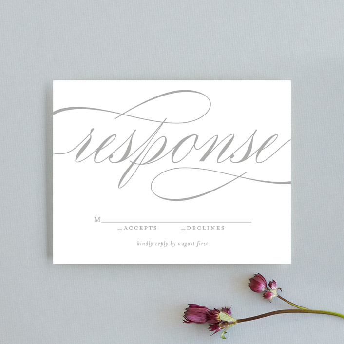 """Mist"" - Rsvp Cards in Fog by Lori Wemple."