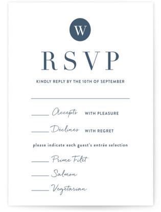 Wedding Stamp RSVP Cards