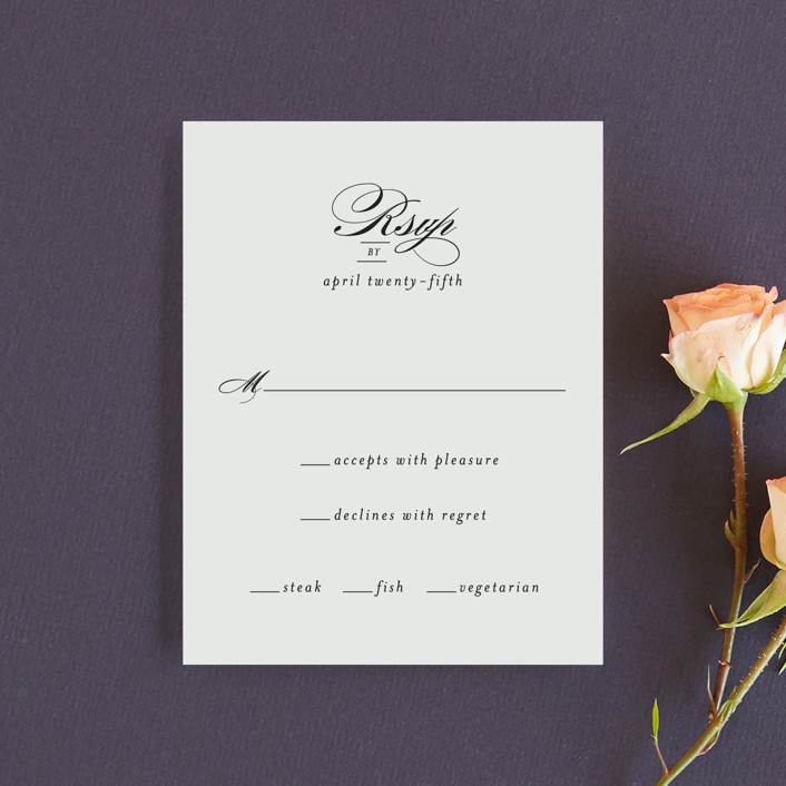 """""""Big City - Houston"""" - Rsvp Cards in Light Taupe by Hooray Creative."""