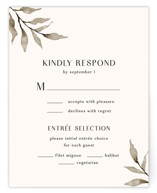 This is a brown rsvp card by Chris Griffith called Rural Romance with standard printing on signature in standard.