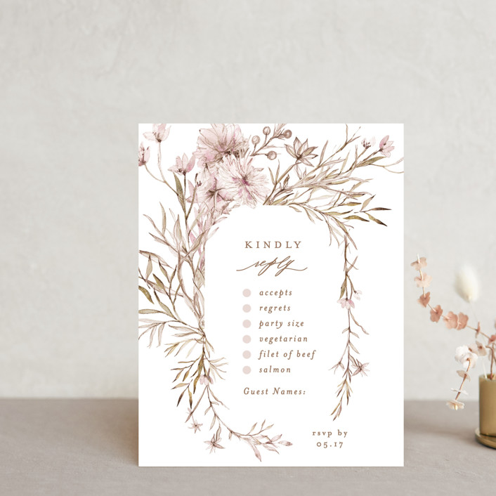 """""""ring box"""" - Rsvp Cards in Sunset by Phrosne Ras."""