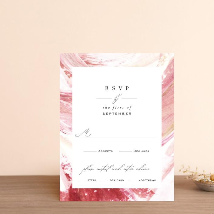 """""""pollen"""" - Rsvp Cards in Petal by Robin Ott."""