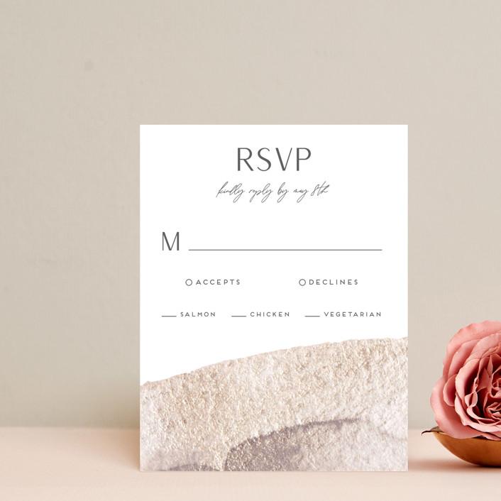 """requiem"" - Rsvp Cards in Zen by christina enciso."