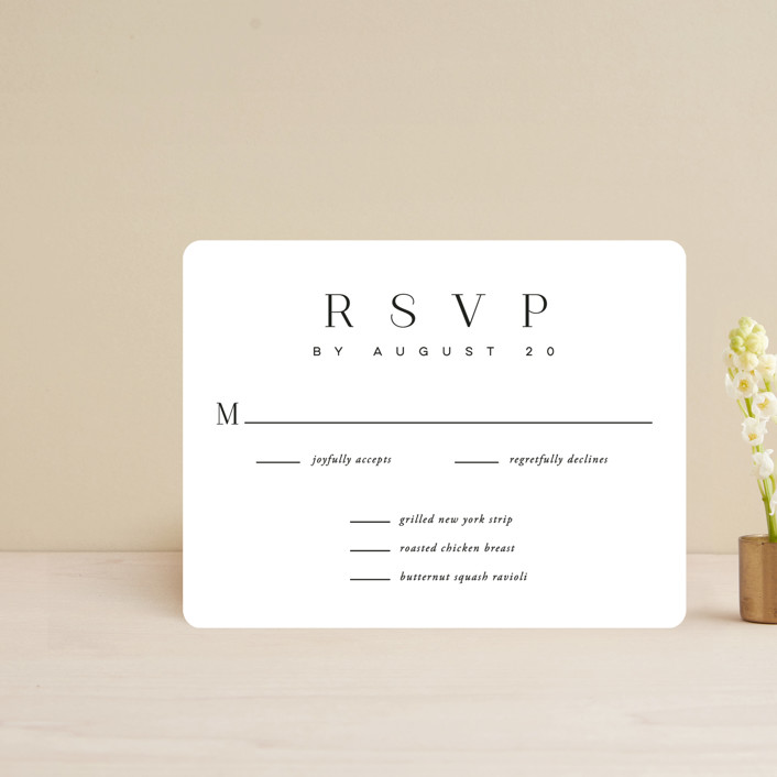 """""""The Space Between"""" - Rsvp Cards in Sugar by Jessica Williams."""