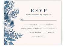 This is a blue rsvp card by Chris Griffith called Southern Comfort with standard printing on signature in standard.