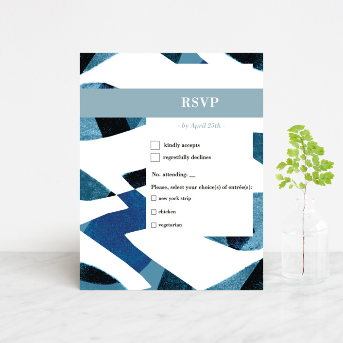 """""""Drops"""" - Rsvp Cards in Sea by Bethania Lima."""