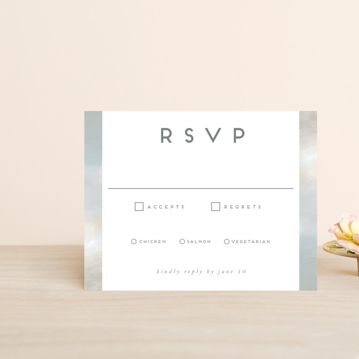 """Grounded in Love"" - Rsvp Cards in Porcelain by Nicole Walsh."