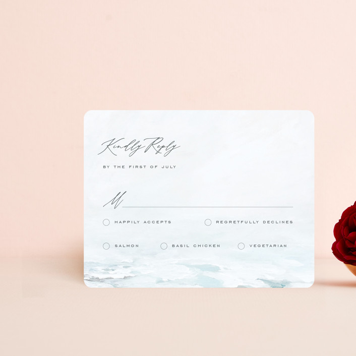 """""""At Sea"""" - Rsvp Cards in Sky by Nicoletta Savod."""