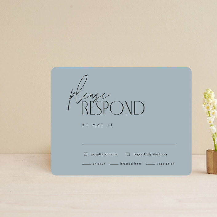 """""""Layered"""" - Rsvp Cards in Cloud by Kelly Schmidt."""