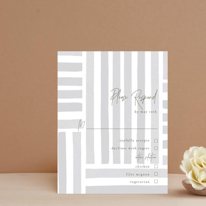 """Fall Flurry"" - Bohemian Rsvp Cards in Fall by Grace Kreinbrink."