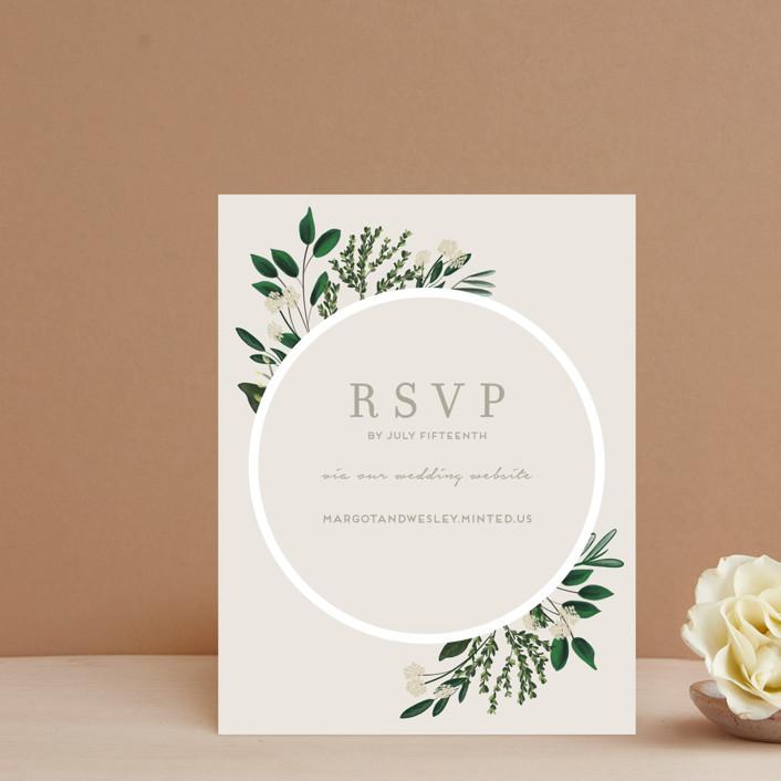 """""""Watermark"""" - Rsvp Online Enclosure Cards in Cypress by Kaydi Bishop."""