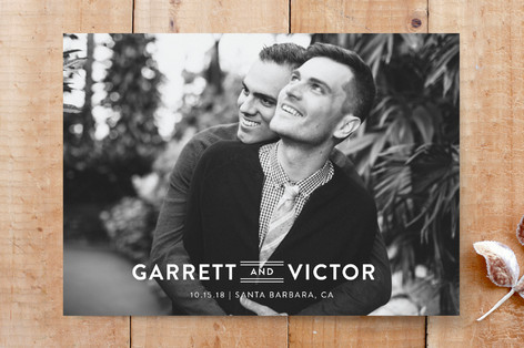 Fields of Gold Save the Date Cards