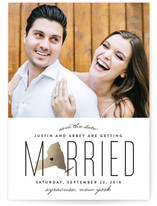 Married in New York Save the Date Cards