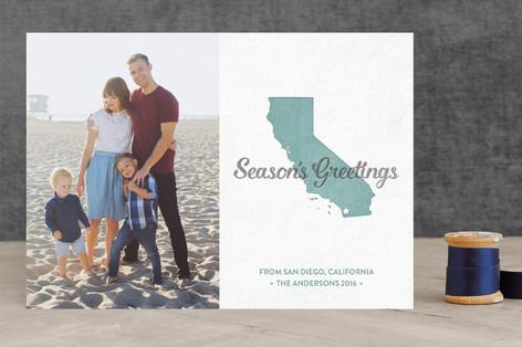 seasons greetings california Holiday Photo Cards