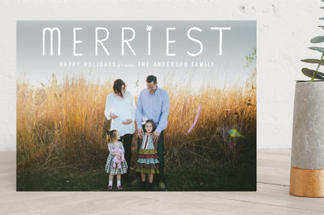 The Merriest Holiday Photo Cards