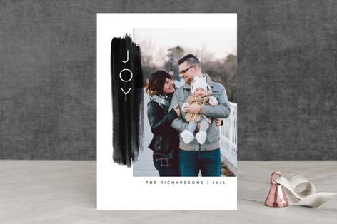 A Brush of Joy Holiday Photo Cards