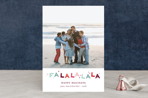 confetti song Holiday Photo Cards