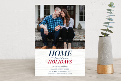 Home for the Holidays Holiday Photo Cards