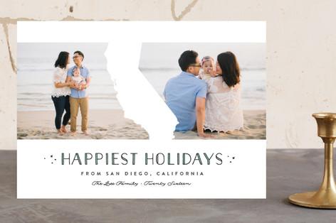 California Love Holiday Photo Cards