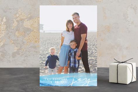 Waves of Joy Holiday Photo Cards