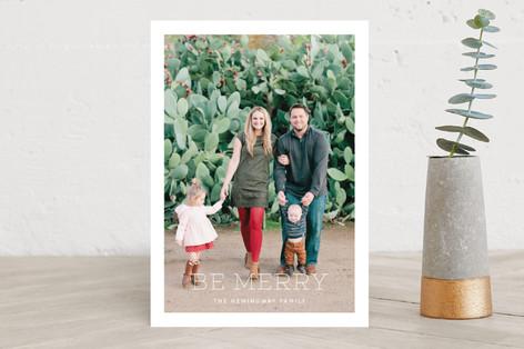 Souvenir Holiday Photo Cards
