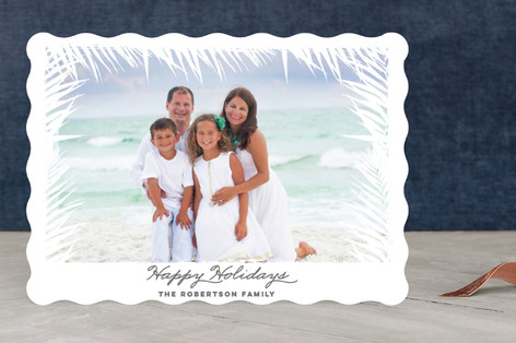 Palm Beach Holiday Photo Cards