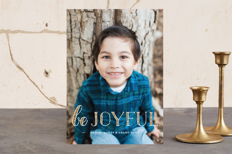 All that Glitters Holiday Photo Cards