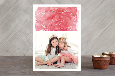 Diamond Holiday Photo Cards