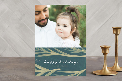 Pine Dream Holiday Photo Cards