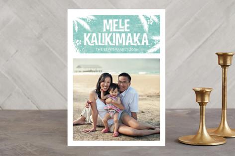 Mele Kalikimaka Holiday Photo Cards