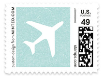 Come Fly with Us Baby and Kids Stamps