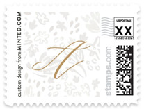 Baptism Floral Baby and Kids Stamps