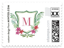 Tropical Crest Baby and Kids Stamps