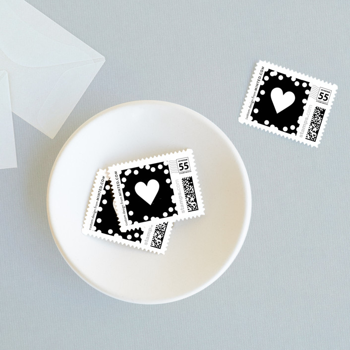 """""""Starlight"""" - Baby And Kids Stamps in Midnight Black by Saltwater Designs."""