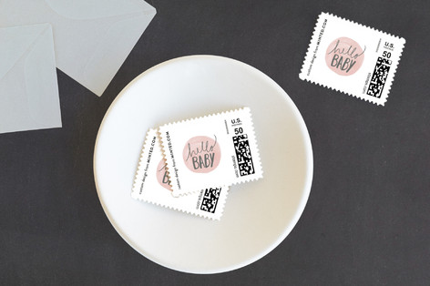 Hello Baby Baby and Kids Stamps