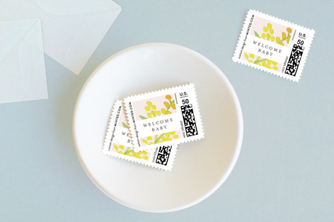Goldenrod Baby and Kids Stamps