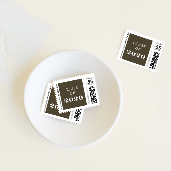 """""""2020 Cutout"""" - Baby And Kids Stamps in Ivory by Yaling Hou Suzuki."""