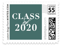 This is a green kids postage stamp by Seven Swans called Join Us with standard printing on adhesive postage paper in stamp.