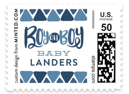 Boy oh Boy Tie Baby and Kids Stamps