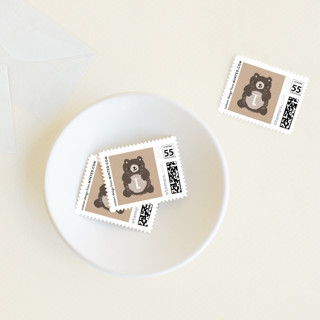 Mama Bear Baby and Kids Stamps