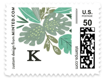 Jungle Cruise Greens Baby and Kids Stamps