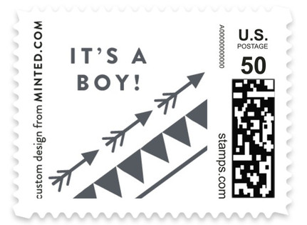 Adventurous Tribal Baby and Kids Stamps