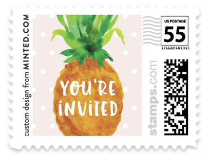 Be A Pineapple Baby and Kids Stamps