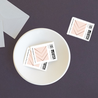 Elegantly Lined Baby and Kids Stamps