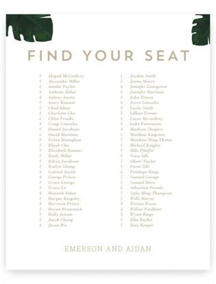 Palm Seating Charts