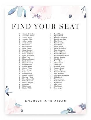 Florista Modernista Seating Charts